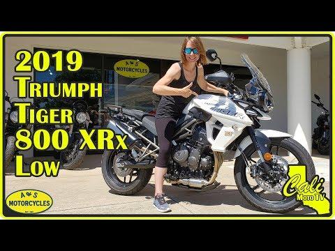 2019 Triumph Tiger 800 XRx Low Review