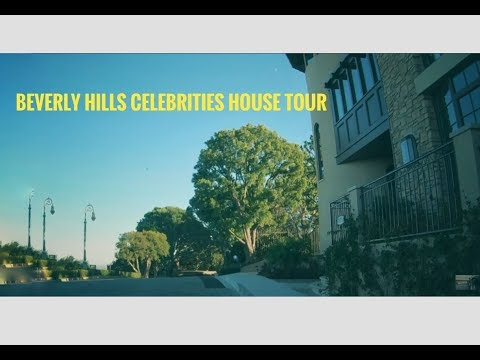 Beverly Hills celebrities house tour