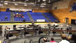 Tomball HS TCP Winter Percussion Ensemble - 3/7/15 - Housto