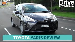 2017 Toyota Yaris Ascent video review | Drive.com.au
