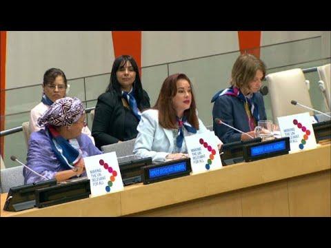 الأمم المتحدة: المرأة لا زالت تواجه التمييز في جميع أنحاء العالم…  - 10:54-2019 / 7 / 16