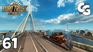 Euro Truck Simulator 2 - Ep. 61 - Hamburg Bridges! (Köhlbrandbrücke) - ETS2 ProMods 2.1 Gameplay