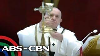 Pope Francis leads Easter Morning Mass, delivers 'Urbi et Orbi' blessing