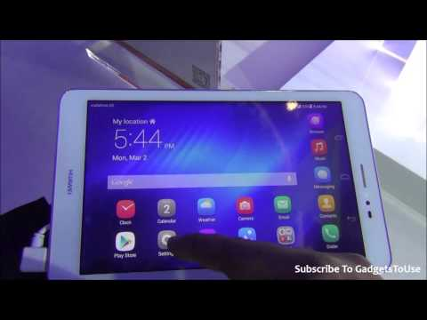 Huawei Mediapad T1 8 Inch Tablet Hands on Review, Camera, Price, Features, Comparison and Overview a
