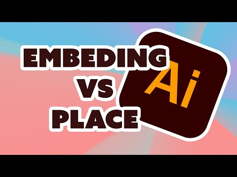 Embedded Images in Illustrator