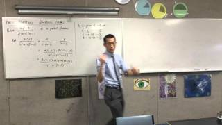 Partial Fractions: Quadratic Factors (1 of 2: Issues with non-linear denominator factors)