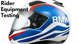 BMW Motorrad Rider Equipment Testing