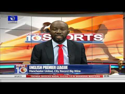 News@10: Nigeria Beat Burkina Faso 2-0 In CHAN 2016 Qualifiers 1st Leg 17/10/15Pt 4