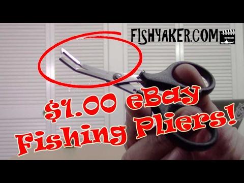 CHEAP! $1.00 EBay Fishing Pliers: Episode 451