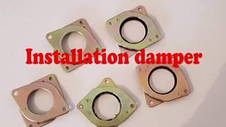 Installation Damper sur une creality CR 10
