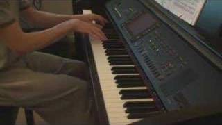 Hushabye Mountain on piano