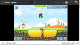 Bridge Builder WALKTHROUGH MiniJuegos com