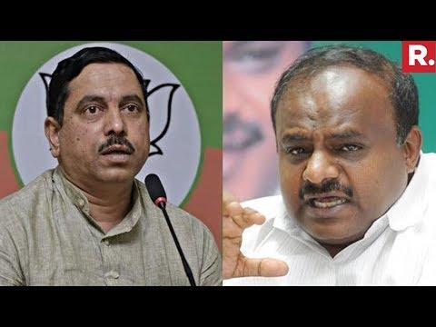 BJP MP Prahlad Joshi Reacts On Kumaraswamy's Mercy Comment