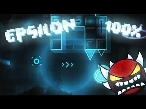 Epsilon 100% (Fun extreme demon) - On Stream | Geometry Dash