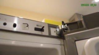 Как перевесить дверцу холодильника самому? Bosch(, 2016-02-07T15:14:19.000Z)