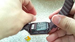 What size SIM card the DZ09 smartwatch use? ⌚