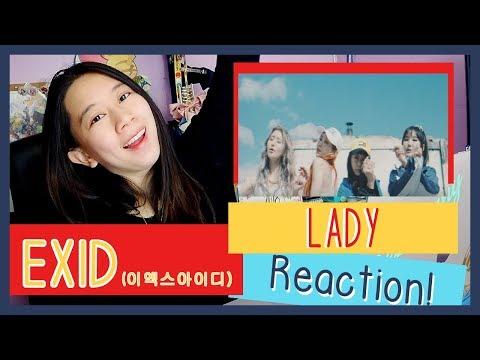 EXID 이엑스아이디 - Lady 내일해  MV Reaction ♫