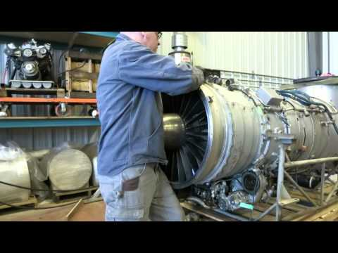 The AI-25 turbofan engine, part 1