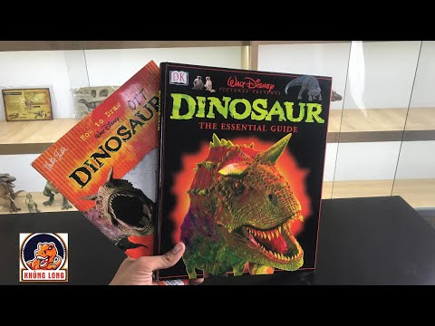 ❗Review Sách khủng long Disney 2000 !!!! Disney Dinosaur the essential guide book