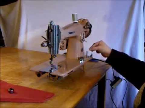 Nelco Straight Stitch Sewing Machine Demonstration Video YouTube Unique How To Thread A Vintage Nelco Sewing Machine