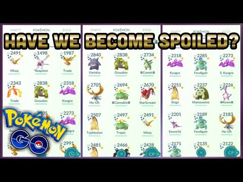 Have we become spoiled in Pokemon GO | Lucky Friend discussion thumbnail