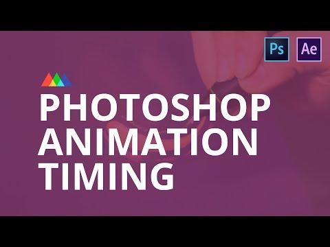 Photoshop Animation Timing