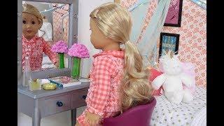 American Girl Doll School Morning Routine