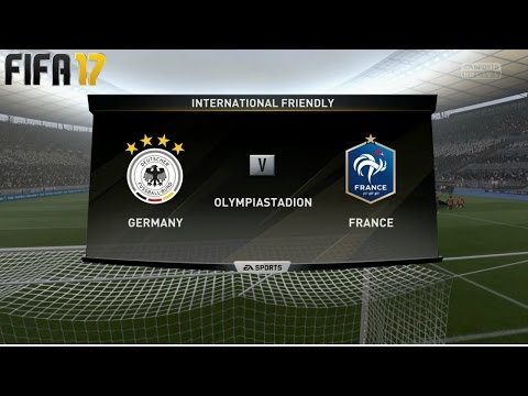 FIFA 17 Germany Vs France | Legendary | Olympiastadion (PS4)