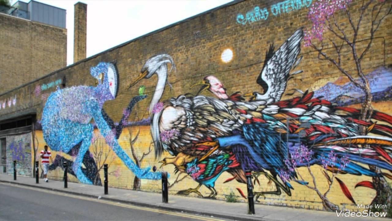 Graffitis London Graffiti Arte En La Calle Street Art Youtube