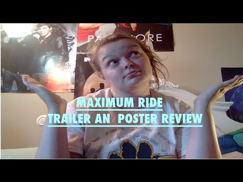 MAXIMUM RIDE MOVIE POSTER AND TRAILER REACTION