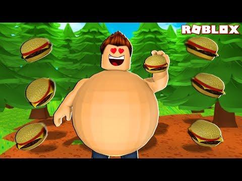 ME VUELVO MÁS GRANDE Y MÁS GORDO EN ROBLOX !! - Roblox Fat Simulator 2