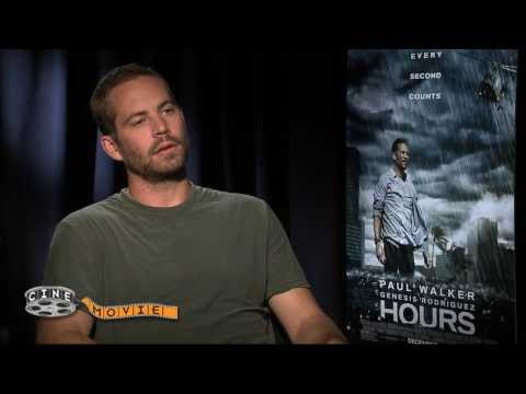 Paul Walker's Final CineMovie Interview - Unedited