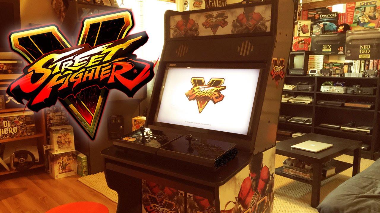 Street Fighter 5 Custom Arcade Cabinet