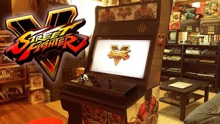 Street Fighter 5 - Custom Arcade Cabinet
