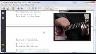Bollywood Hindi Song Guitar Chords and Tabs Book