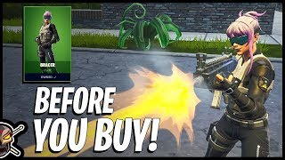 Before You Buy The *NEW* BRACER Skin in Fortnite!