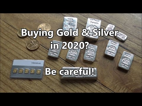 Be VERY careful when buying GOLD and SILVER | It's going to be a very tough year!