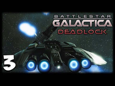 RAIDERS INBOUND! Battlestar Galactica Deadlock Gameplay #3