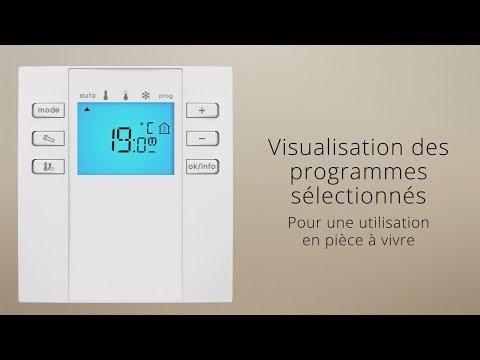 Visualisation des programmes sélectionnés - [Tuto RHDRFPR pour pièce à vivre]