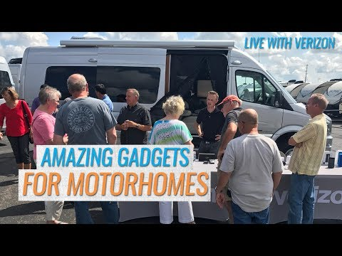Tech Gadgets for Your RV and Home (LIVE with Verizon)