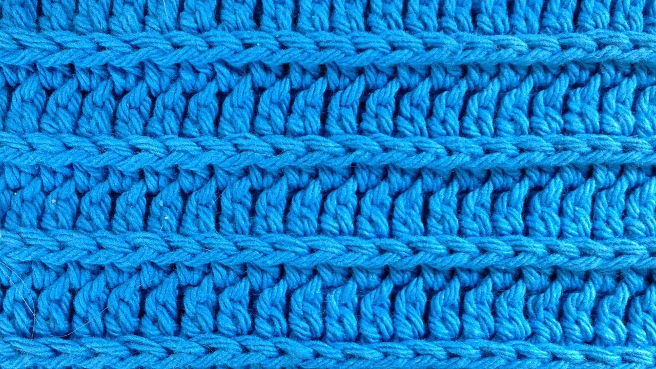 Crochet Royal Ridge Stitches Free Dishcloth Pattern Youtube