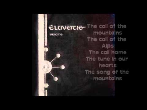 Eluveitie The Call Of The Moutains lyrics