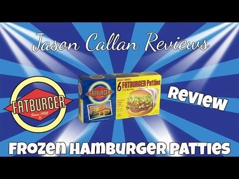 how to prepare frozen hamburger patties