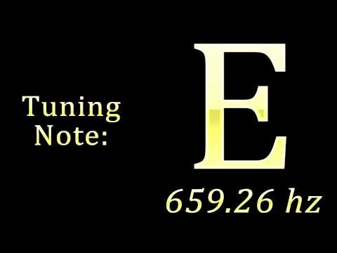 Tuning Note: E