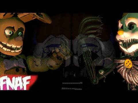 (Fnaf) (SFM) Fnaf 3 song By Roomie Music Video-Failed Revenge
