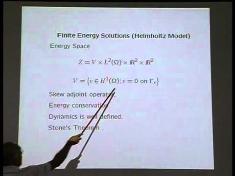 Models of Fluid-Structure Interaction and Exact Controllability - M. Vanninathan