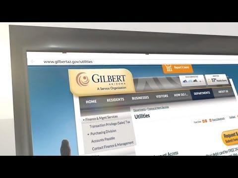Pay your Gilbert, AZ Utility Bill Online