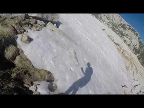 Tuolumne Meadows to Yosemite Valley 22-mile trail run