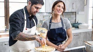 Quiche Lorraine by Chef Ludo Lefebvre and Minka Kelly