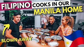Foreigners try PANGASINAN FILIPINO FOOD that our Filipino Friends cooked